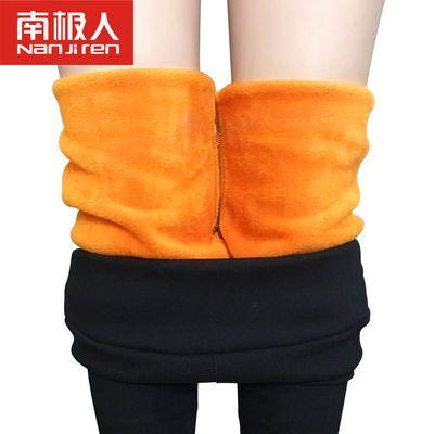 打底裤女外穿加绒加厚紧身弹力高腰显瘦九分小脚铅笔秋冬季裤子女