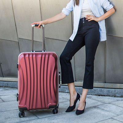 蒙娜丽莎行李箱