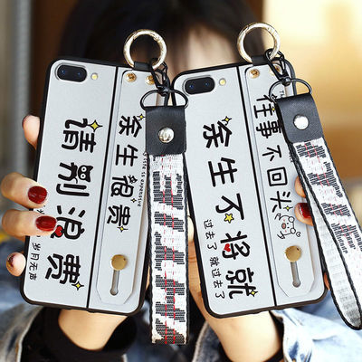 OPPOA5手机壳OPPOA3腕带文字保护套A83磨砂A1男软硅胶A3M女潮A83t