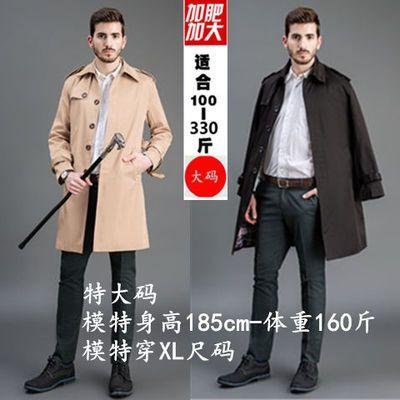 秋冬男士风衣男中长款过膝外套青年帅气大衣学生大码超长款披风男