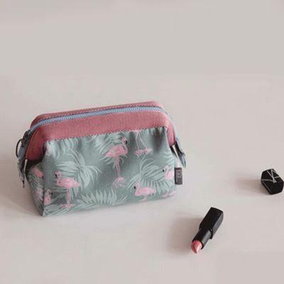 小清新大容量化妆包女出差旅行洗漱包男化妆品口红包收纳包手提袋