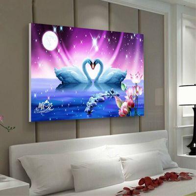 现代简约客厅装饰画餐厅壁画卧室挂画宾馆床头背景墙画玄关无框画