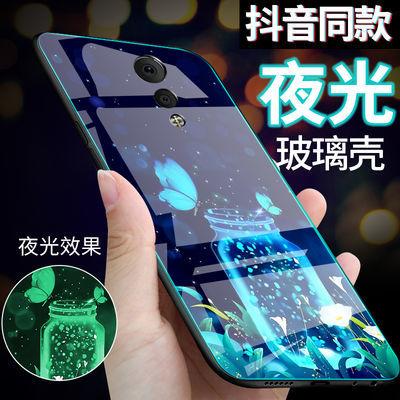 vivoxplay6玻璃手机壳vivoxplay6夜光保护套xplay6手机套防摔创意
