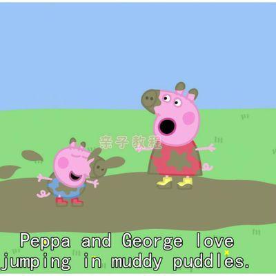 小猪佩奇佩琪粉红猪小妹幼儿英语动画片英文原版高清视频教程下载