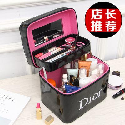 化妆包韩版大容量网红小化妆箱家用防水学生化妆品收纳盒随身新款