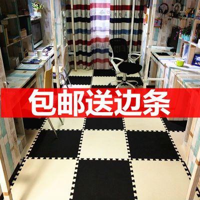 儿童爬行木纹泡沫地垫地毯块拼图防滑拼接地板块16片装榻榻米家