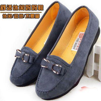 北京布鞋 女士大码鞋子41-43妈妈平底鞋软底休闲鞋中老年老人鞋春
