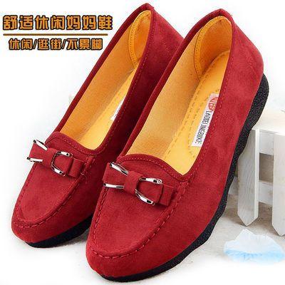 大码老北京布鞋女41-43单鞋新款春夏中年妈妈40-50岁女士休闲鞋子