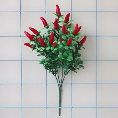 韩国小郁金香仿真花束绢花假花单枝 客厅餐桌装饰搭配摆设件