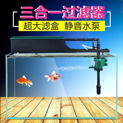 银湖日胜鱼缸氧气泵超静音充氧机打氧观赏鱼冲氧泵省电小型增氧