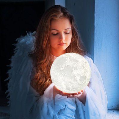 卡小夜灯迷你小灯便携彩色创意电池卧室薄卡灯节能环保
