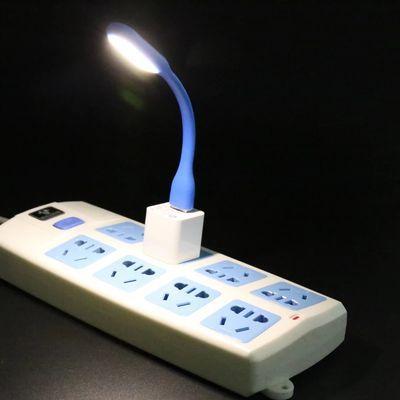 创意充电小夜灯迷你节能阅读宿舍拍拍灯触摸展橱衣柜装饰喂奶小