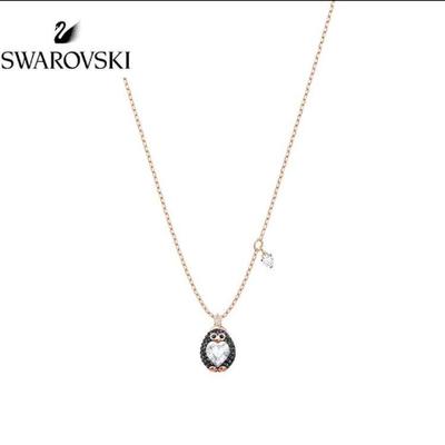 施华洛世奇Swarovski可爱企鹅Little Penguin吊坠项链送女友礼物
