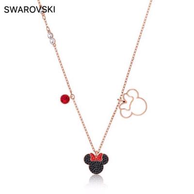 施华洛世奇Swarovski米奇米妮吊坠项链送女友轻奢生日情人节礼物