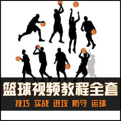 篮球视频教程大全入门篮球教学训练课程自学五虎打篮球技巧街球