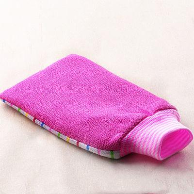 【加厚搓澡巾】洗澡巾手套用品三件装拉搓背神器浴花球双层粗细砂