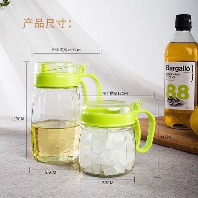 立式调味盒可旋转式调料盒创意厨房用品调味瓶调料罐套装带勺环