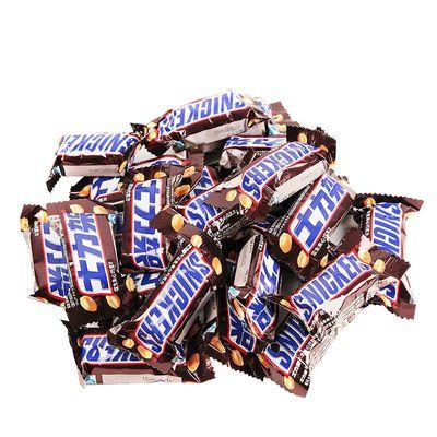 德芙士力架花生夹心牛奶巧克力220g袋装结婚庆喜糖果散装批发零食