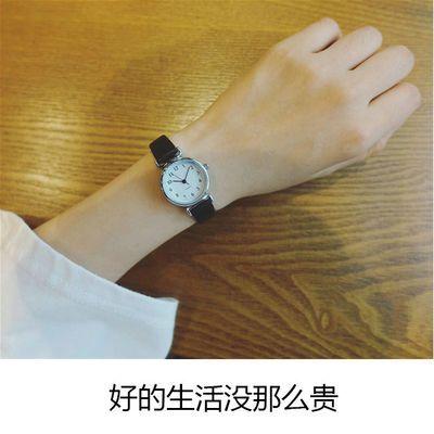 考试用小清新手表女学生韩版简约潮流ulzzang复古 女生闺蜜皮带表