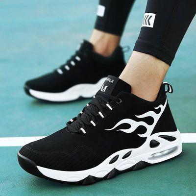 冬季韩版百搭潮流青少年篮球鞋初中学生加绒棉鞋运动休闲男鞋子潮