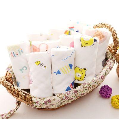 新生婴儿围嘴8层纱布方形系带防水围嘴纯棉防吐奶围兜口水巾超柔