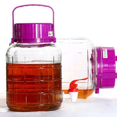 糖蒜腌萝卜泡菜泡酒腌制玻璃瓶专用酸菜缸储物罐子淹鸡蛋的玻璃