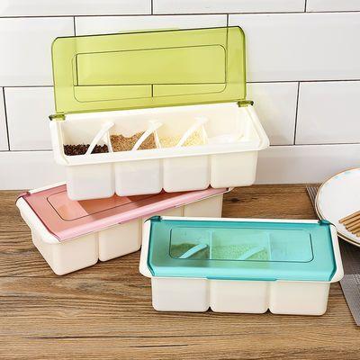 欧式调味罐套装家用调料盒三组合装盐油罐厨房用品调味料瓶