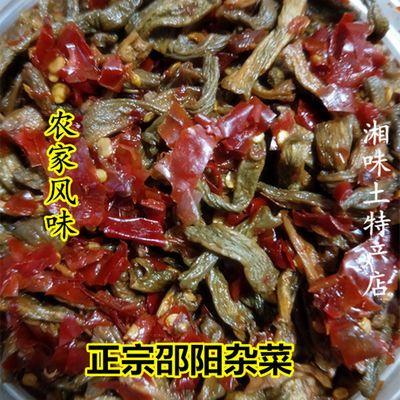 湖南特产坛子菜邵阳衡阳豆根子扎邵东茄子杂菜咸菜腌菜下饭菜500g