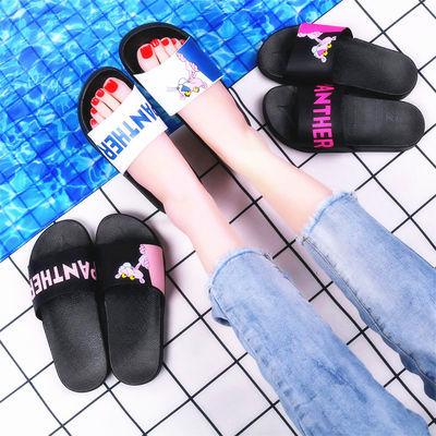 拖鞋女鞋新款休闲平跟家居时尚韩版两穿凉拖女百搭薄底鞋子学生夏