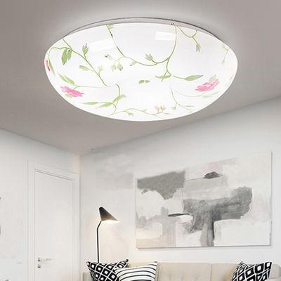 LED吸顶灯房间卧室简约现代大气家用走廊客厅灯饰灯具2019年新款【3月30日发完】