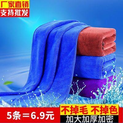 洗车毛巾无痕不易掉毛擦地麻布专用抹布吸水加厚擦车巾汽车大号