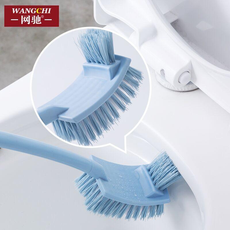 洁厕清洁刷家用长柄去死角软毛洗厕所刷子卫生间无死角马桶刷套装