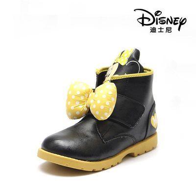 迪士尼童鞋儿童雪地靴中小童保暖靴子童1114637632