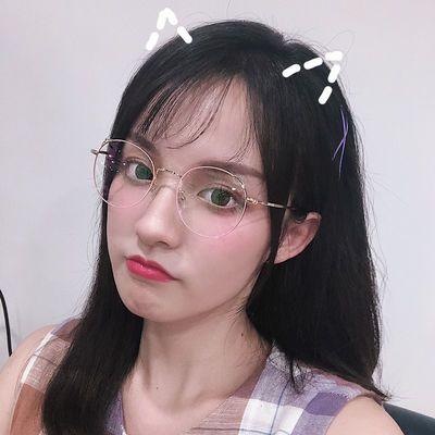 防蓝光防辐射眼镜男潮近视眼镜女网红款镜架电脑手机平光镜护眼