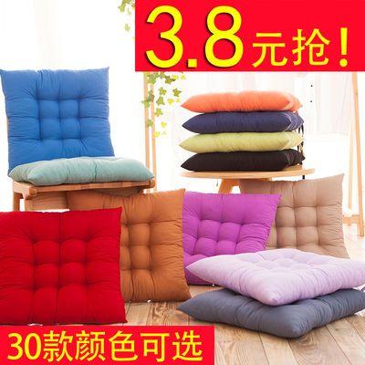 冬季特价卡通棉麻简约多色格子连体椅垫坐垫办公室电脑椅椅子坐