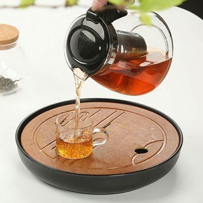 容山堂 玻璃蒸茶器煮茶器蒸汽泡茶壶黑茶养生壶电陶炉烧水壶套装