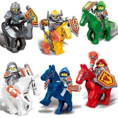 兼容乐高积木未来骑士团骑士盾牌人仔拼装益智儿童玩具男孩子礼物