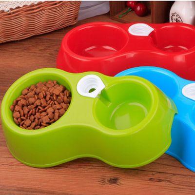泰迪自动喂食器饮水器猫咪喝水机猫食物盆狗碗狗狗饭碗宠物用品