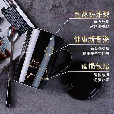 自动搅拌咖啡杯子带盖懒人电动咖啡杯套装不锈钢马克杯电池情侣