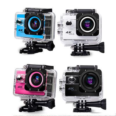 遥控WIFI运动触屏相机 户外航拍DV数码防抖4K高清骑行潜水摄像机