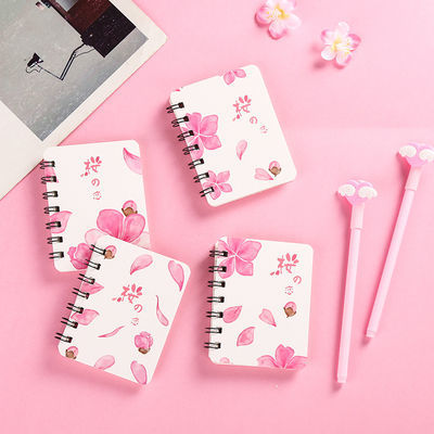 韩国女生80张笔记本学生本子小清新记事本小号随身创意线圈本批发的宝贝主图