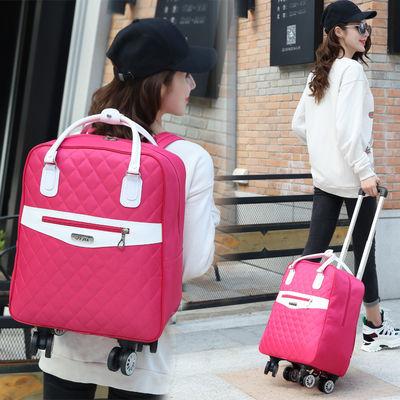 2019款拉杆包男女行李包登机箱包轻便行李包防水双肩背短途旅行袋