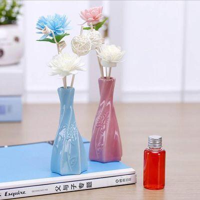 花瓶陶瓷花瓶摆件客厅插花创意简约花器水培小花瓶瓷器陶瓷摆件