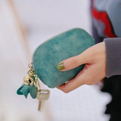 2019钱包女学生零钱包硬币包卡包钥匙扣包韩版迷你简约可爱小包包