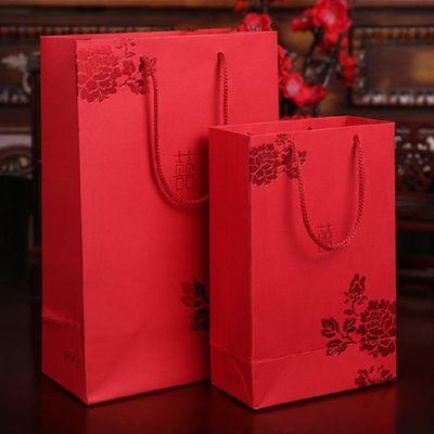 喜糖盒子礼袋批发婚礼织锦袋子创意中式结婚庆用品回礼袋糖果布