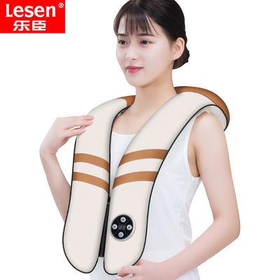 【四核电机】颈肩乐敲打按摩披肩全身颈部腰部捶背加热颈椎按摩器