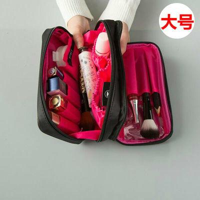 旅行化妆包大容量韩版学生手拿包化妆品收纳袋小号便携随身化妆袋