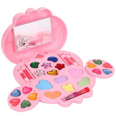 北美仿真过家家女孩玩具儿童无毒化妆品彩妆水溶性3-5-6周岁益智