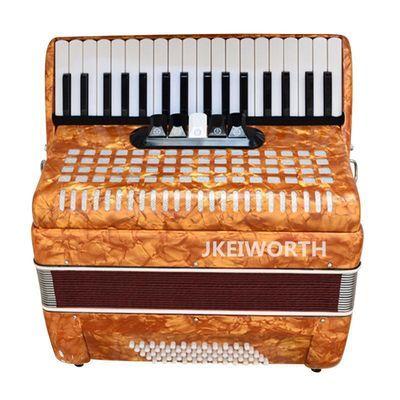 卡尔沃斯 手风琴成人初学考级专业手风琴60贝斯 各种颜色可选