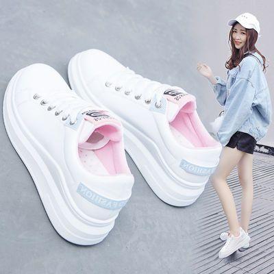 春季新款小白鞋女韩版百搭女鞋学生休闲鞋2020原宿风板鞋平底鞋QW